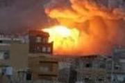 4 غارات وقنابل شديدة الإنفجار تستهدف مصنعي السنيدار للمضخات وانتاج الطوب الأحمر وشركة كيراري شمال العاصمة.(التفاصيل)
