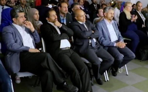 """"""" شاهد بالفيديو """"حمود المخلافي وقيادات اخوانية تظهر في سهرة غنائية باسطنبول."""