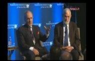 شاهد بالفيديو : تركي الفيصل والمدير الأسبق للموساد الإسرائيلي في مؤتمر صهيوني بنيويورك جنباً إلى جنب.