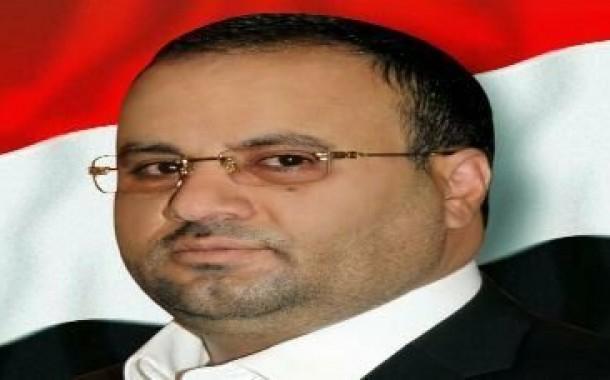 الرئيس الصماد يقدم واجب العزاء في إستشهاد طه حسين الرزامي ومحمد الرزامي .