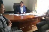 مناقشة التدخلات الزراعية والصحية لمشروع ال(GIZ) بمحافظة إب   .