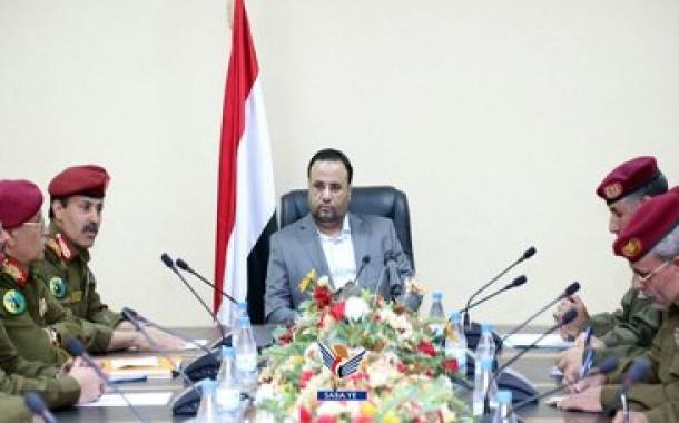 الرئيس الصماد يشدد على دور الاجهزة في الحفاظ على الأمن والإستقرار وضبط الجريمة ومحاسبة مرتكبيها.