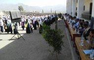 فعالية طلابية ونسائية بذي السفال احياء لذكرى ميلاد فاطمة الزهراء .