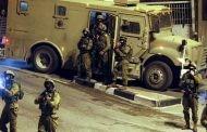 قوات العدو تعتقل 15 فلسطينيا بالضفة .