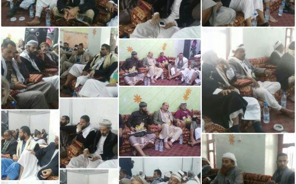 شاهد بالصور : لقاء علمائي بمحافظة إب يؤكد وجوب الجهاد ضد المعتدين والغزاة .