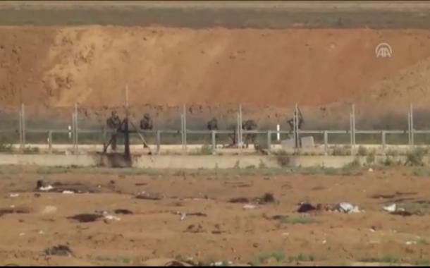 بالفيديو.. الاحتلال يختطف شابا عقب إصابته شمال القطاع .