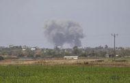 إطلاق أكثر من 70 صاروخا وقذيفة من غزة على مستوطنات الكيان الصهيوني .