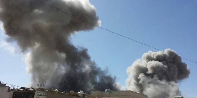 استشهاد مواطنين برصاص حرس الحدود السعودي في صعدة وغارات عدوانية هستيرية للعدوان على محافظة ذمار .