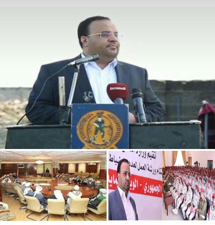 استنفار رئاسي تاريخي… الرئيس الصمّاد أستحوذ على النشاط الوطني والدفاعي بجداره.