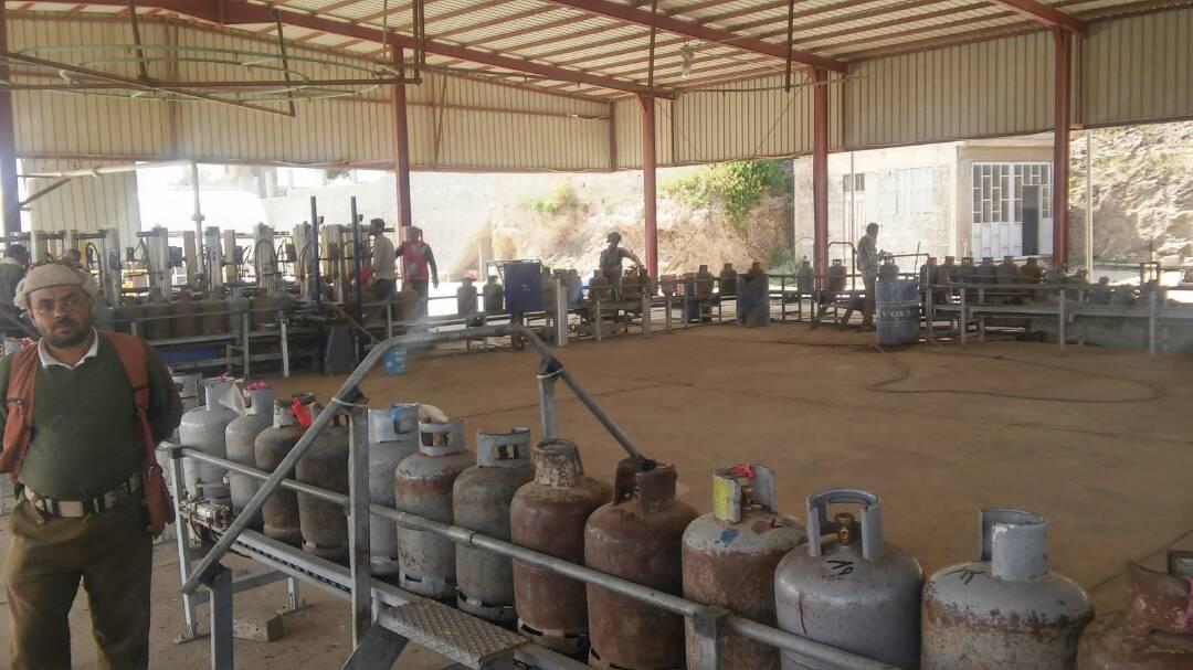 إب : تدشين حملة بيع الغاز المنزلي بسعر 3 آلاف ريال بالمحافظة .