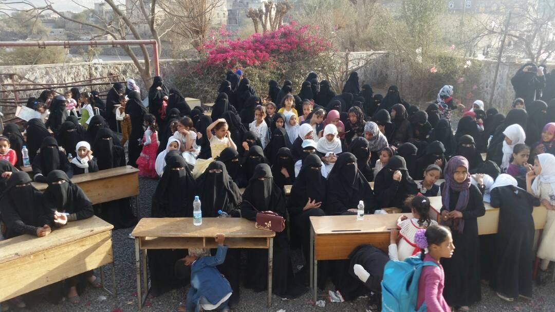 شاهد بالصور : فعالية نسائية بحبيش إب احتفاءا بذكرى ميلاد فاطمة الزهراء .
