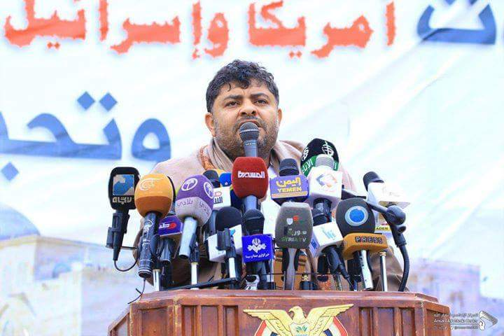 The revolutionary president conveys the greetings of the leader of the revolution, Mr. Abdulmalik al-Houthi, to all the liberals and revolutionaries in Palestine