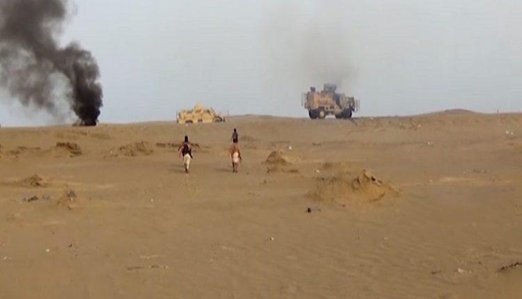 تدمير أكثر من 14 آلية وتسع مدرعات عسكرية على مواقع العدو جنوب كيلو16 في عمليات هجومية واسعة